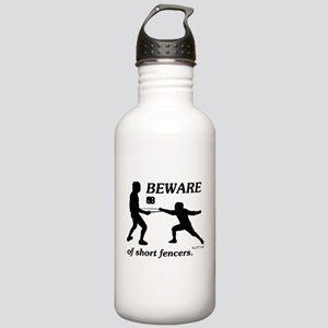 Beware of Short Fencers Stainless Water Bottle 1.0