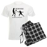Beware of Short Fencers Men's Light Pajamas