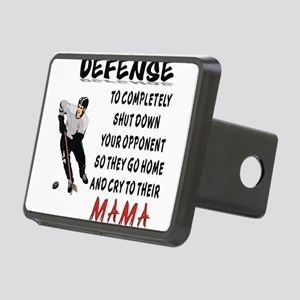 DEFENSE Rectangular Hitch Cover