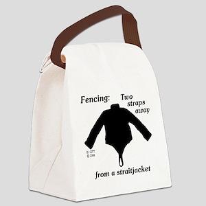 Straitjacket Canvas Lunch Bag