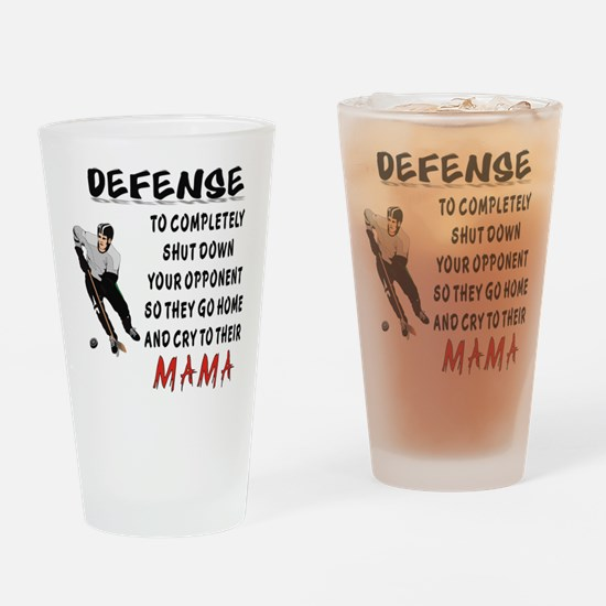 DEFENSE.png Drinking Glass