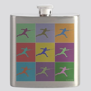 Pop Art Lunge Flask