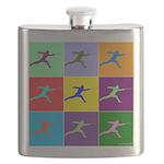 Pop Art Lunge Flask
