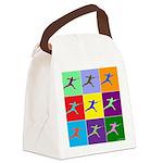 Pop Art Lunge Canvas Lunch Bag
