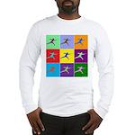 Pop Art Lunge Long Sleeve T-Shirt