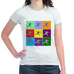 Pop Art Lunge Jr. Ringer T-Shirt