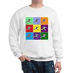 Pop Art Lunge Sweatshirt