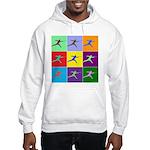 Pop Art Lunge Hooded Sweatshirt