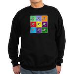 Pop Art Lunge Sweatshirt (dark)