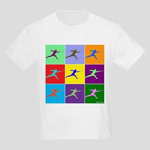 Pop Art Lunge Kids Light T-Shirt