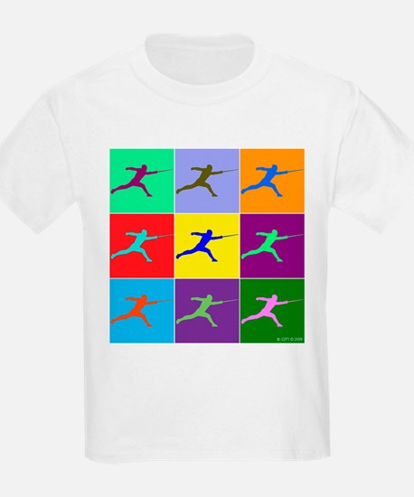 Pop Art Lunge T-Shirt