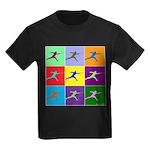 Pop Art Lunge Kids Dark T-Shirt