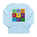 Pop Art Lunge Long Sleeve Infant T-Shirt