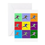 Pop Art Lunge Greeting Cards (Pk of 20)