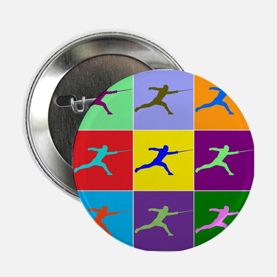"Pop Art Lunge 2.25"" Button"