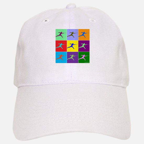 Pop Art Lunge Baseball Baseball Cap
