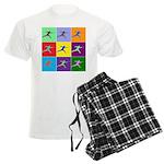 Pop Art Lunge Men's Light Pajamas
