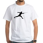 Lunge White T-Shirt