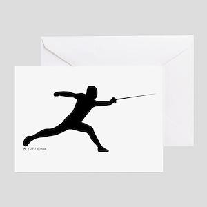Lunge Greeting Card
