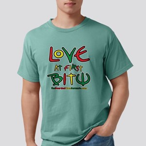 Love At First Bite Mens Comfort Colors Shirt