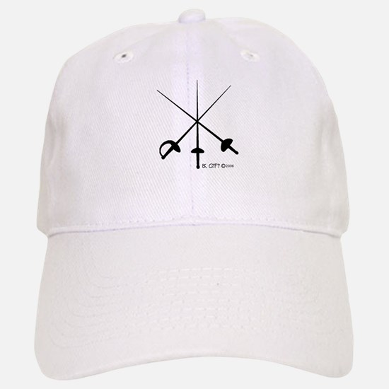 Three Weapon Baseball Baseball Cap