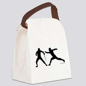 Fence! Canvas Lunch Bag