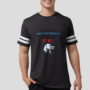 Black & Tan CoonhoundE Mens Football Shirt