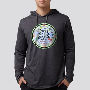 Ramblin Gamblin Man Mens Hooded Shirt