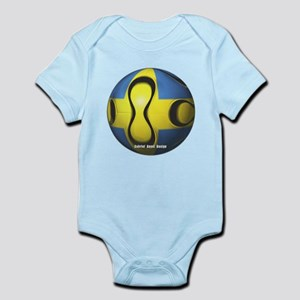 Sweden Soccer Infant Bodysuit