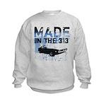 Made in Detroit designer Kids Sweatshirt