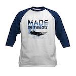 Made in Detroit designer Kids Baseball Jersey
