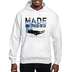 Made in Detroit Graffiti Hooded Sweatshirt