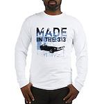 Made in Detroit Graffiti Long Sleeve T-Shirt
