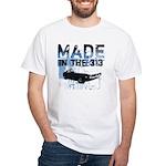 Made in Detroit designer White T-Shirt