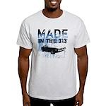 Made in Detroit designer Ash Grey T-Shirt