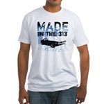 Made in Detroit designer Fitted T-Shirt