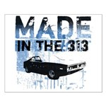 Made in Detroit Car Small Poster