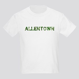 Allentown, Vintage Camo, Kids Light T-Shirt
