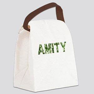Amity, Vintage Camo, Canvas Lunch Bag