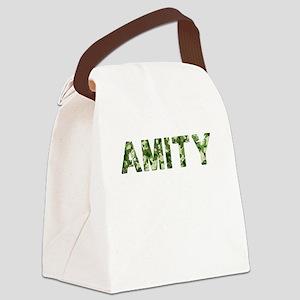 Amity, Vintage Camo, Canvas Lunch Bag