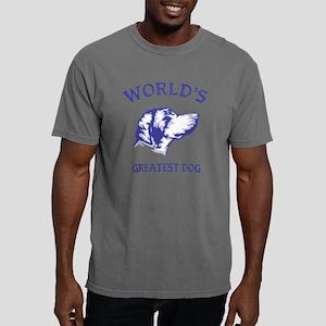 Bluetick CoonhoundH Mens Comfort Colors Shirt