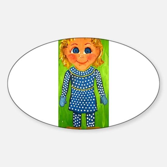 Mrs. Beasley Sticker (Oval)