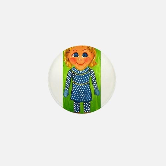 Mrs. Beasley Mini Button