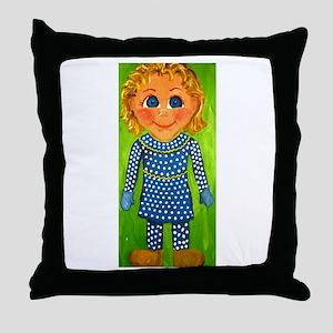Mrs. Beasley Throw Pillow