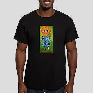 Mrs. Beasley Men's Fitted T-Shirt (dark)