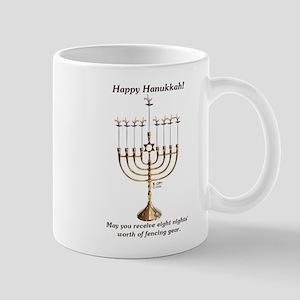 Fencing Hanukkah Mug
