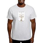 Fencing Hanukkah Light T-Shirt