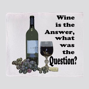 Wine is the answer ~ what was the question? Stadi