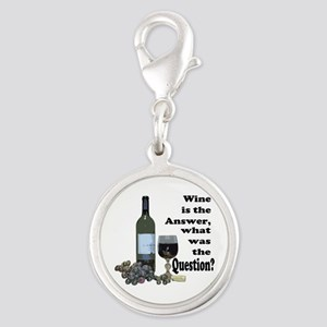 Wine is the answer ~ what was the question? Silver