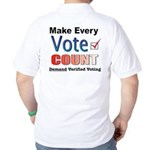 Make Every Vote Count Golf Shirt